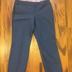 Express Editor Dress Pants. 6R. Blue/black